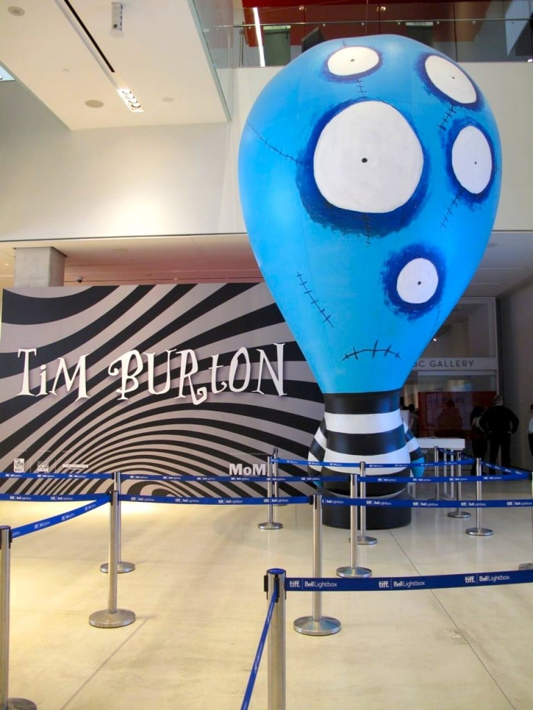 Tim Burton Exhibit at TIFF Bell Lightbox
