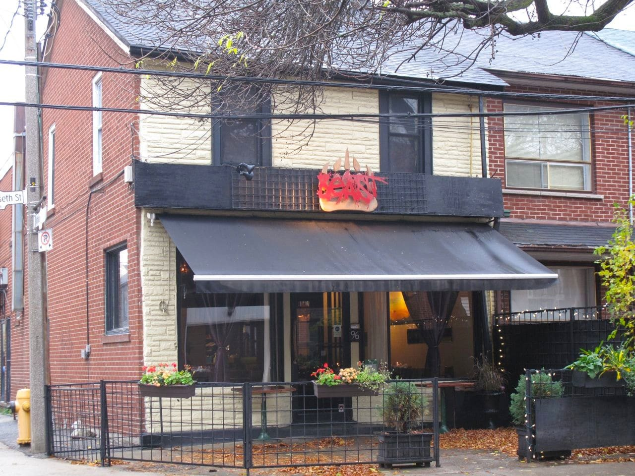 Beast Restaurant Toronto on King West.