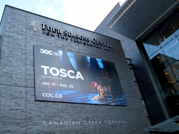 Tosca by The Canadian Opera Company