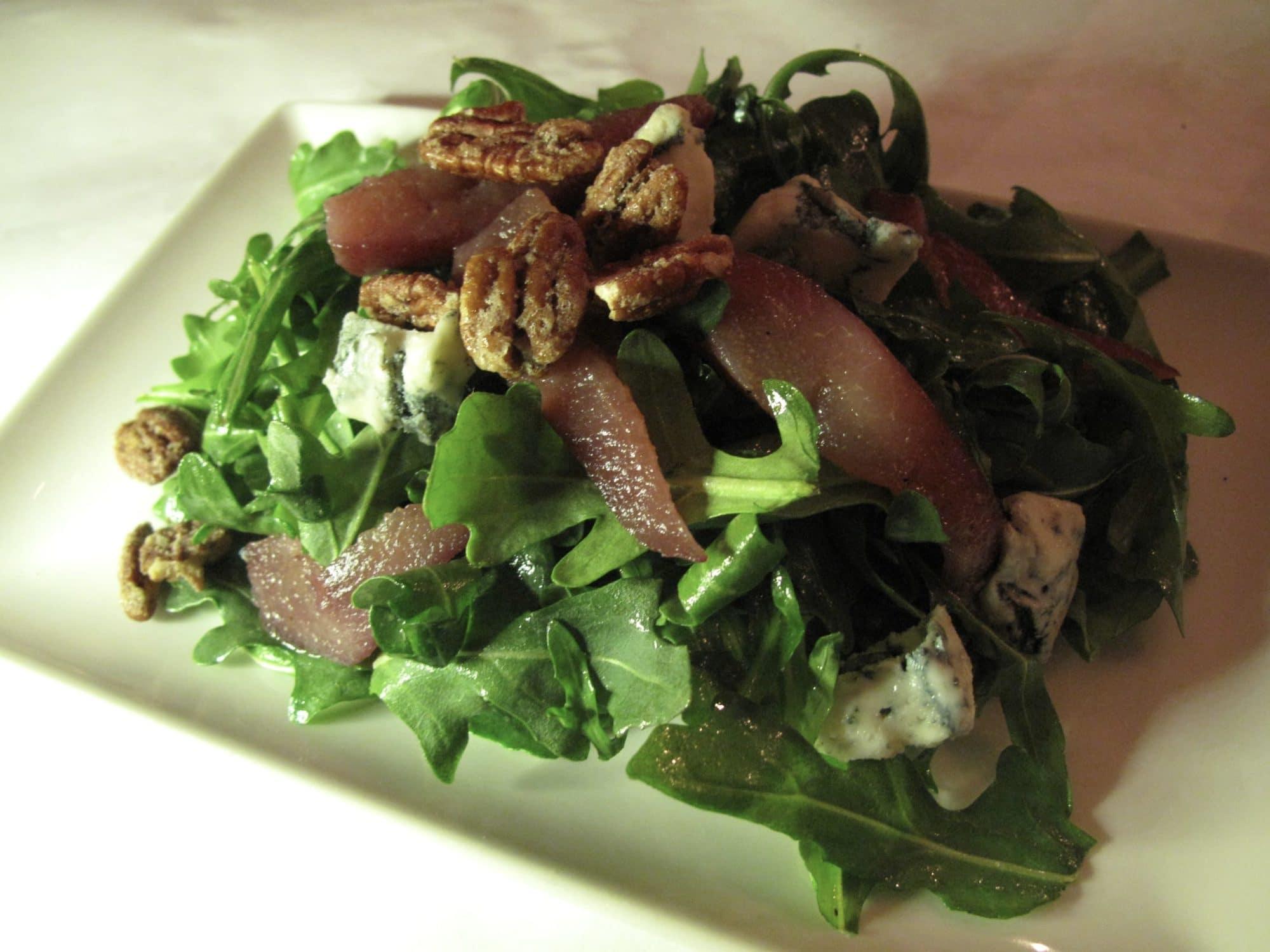 Italian-inspired salad at Il Fornello Danforth.