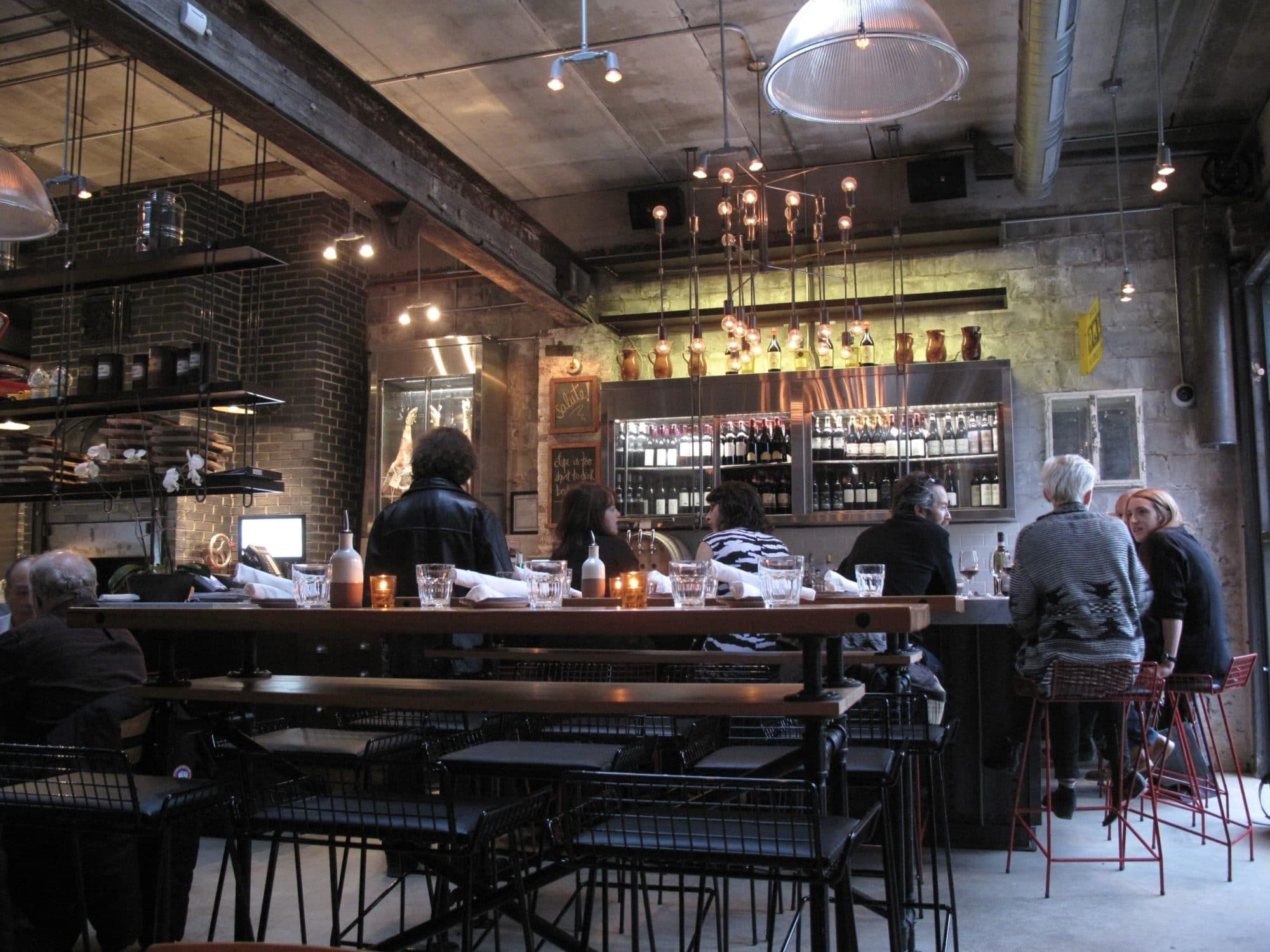 King West Restaurants: Gusto 101 is a favourite casual Italian eatery.