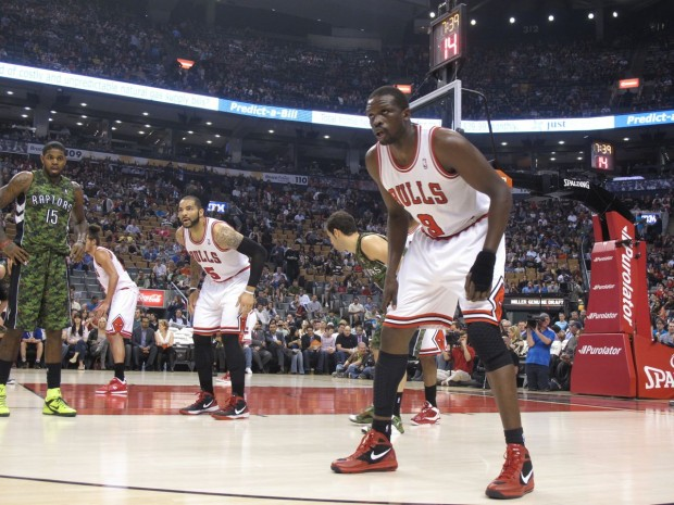 Bulls VS Raptors at The Air Canada Centre