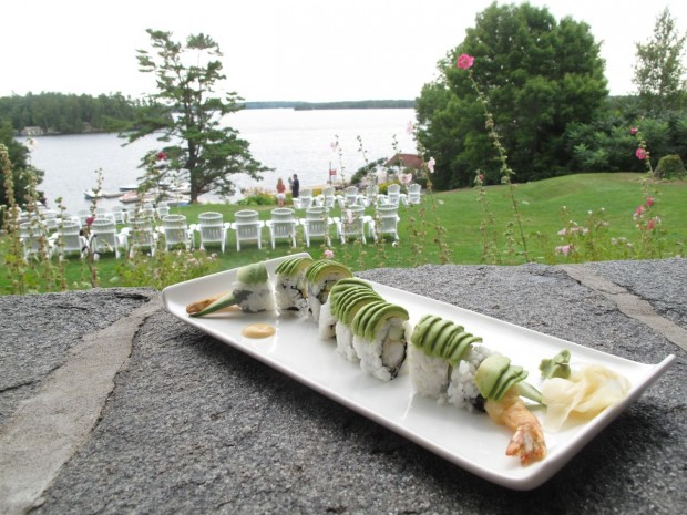 Edo Sushi at Windermere House in Muskoka