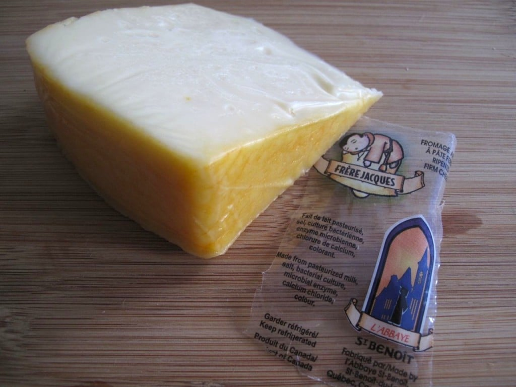 Frere Jacques Cheese From Quebec