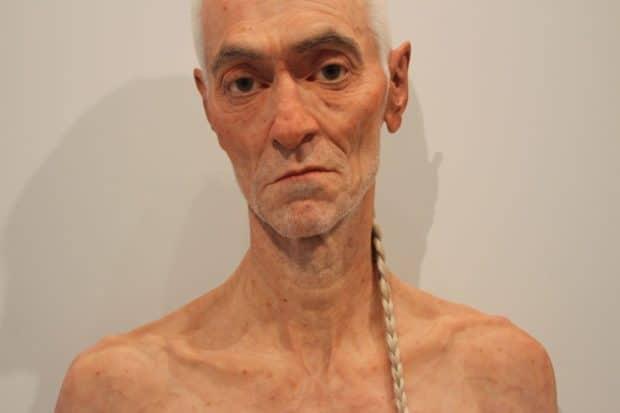 Evan Penny Sculptures at AGO in Toronto