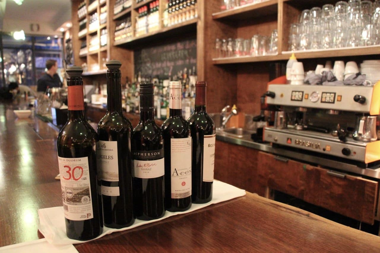 Salt Wine Bar offers craft cocktails and quality wine from Spain and Portugal.