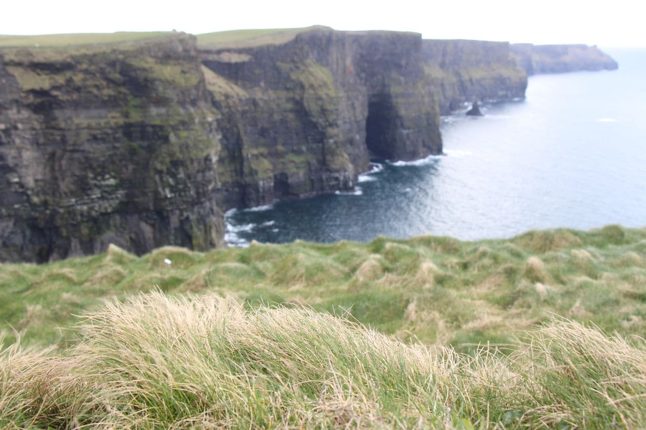 Ireland Road Trip: The Cliffs of Moher are the country's most visited attraction.