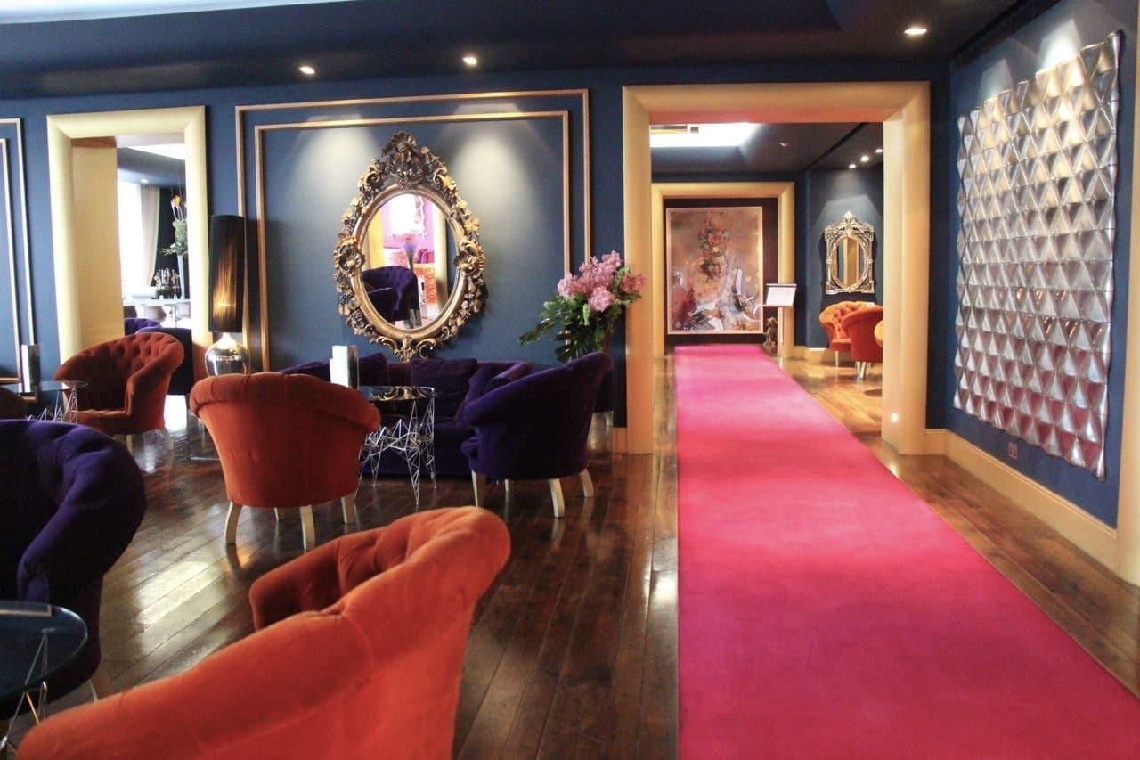 Ireland Road Trip: The G Hotel in Galway was designed by Irish hat designer Philip Treacy.
