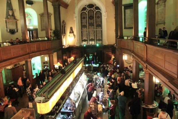 The Church Bar and Restaurant in Dublin