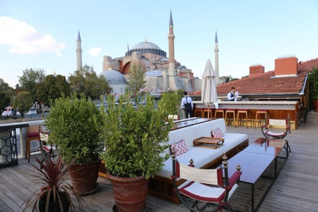 Seasons Restaurant at Four Seasons Hotel Istanbul At Sultanahmet