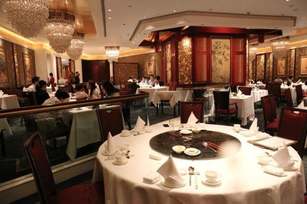 Summer Palace Restaurant at Island Shangri-La Hong Kong