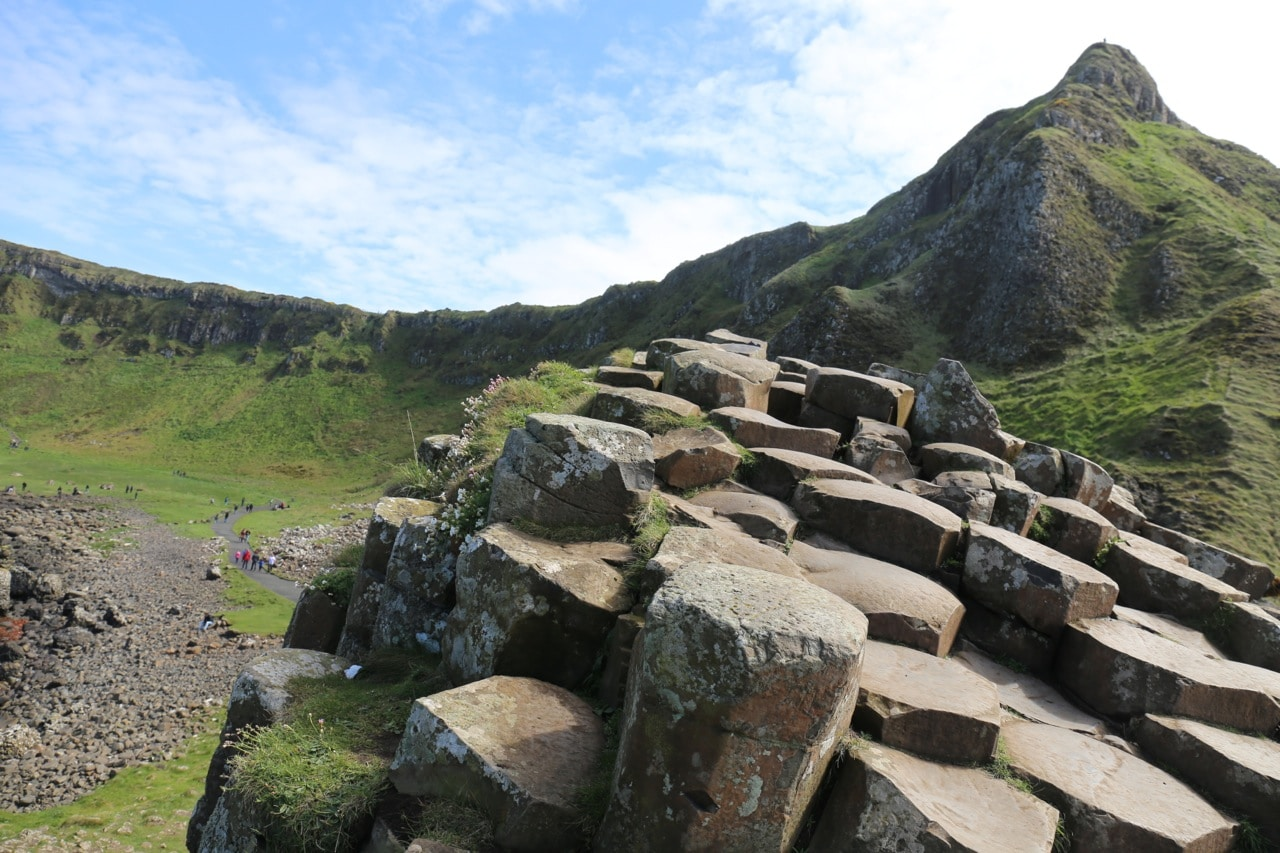 Ireland Road Trip: The Causeway Coast's star attraction is the otherworldly Giants Causeway.