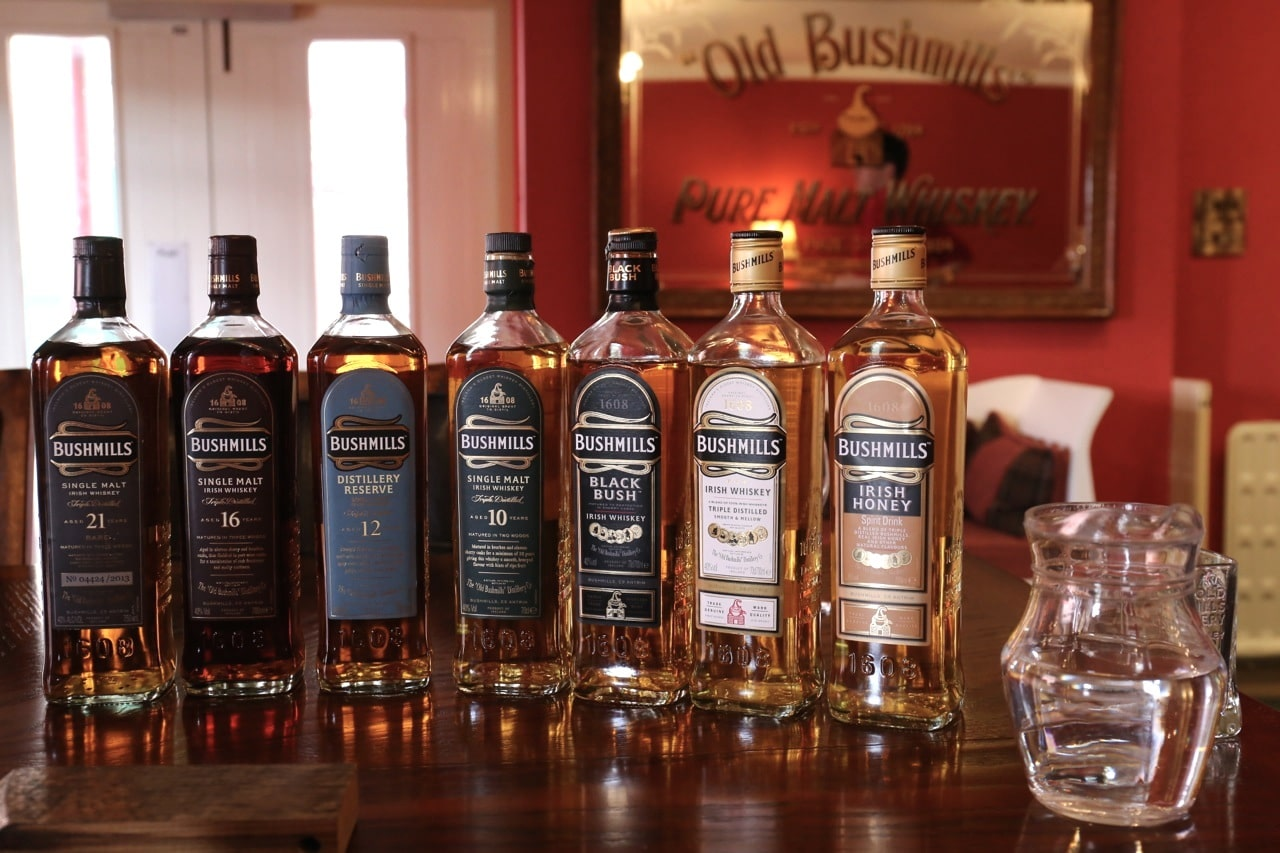 Ireland Road Trip: Enjoy a tasting and tour at Northern Ireland's most famous whiskey distillery.
