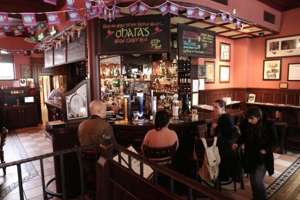 The John Hewitt Bar in Belfast