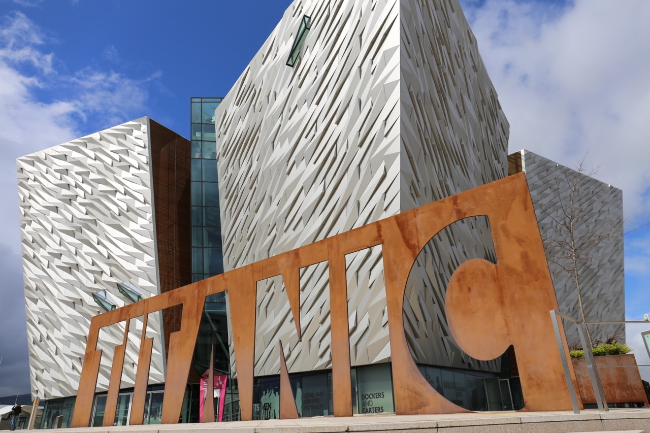 Titanic Belfast is a world-class interactive museum and the city's star attraction.