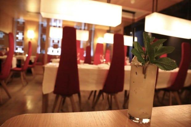 The Restaurant at Fitzwilliam Hotel in Belfast
