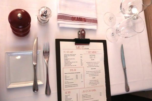 Deanes Meat Locker Restaurant in Belfast