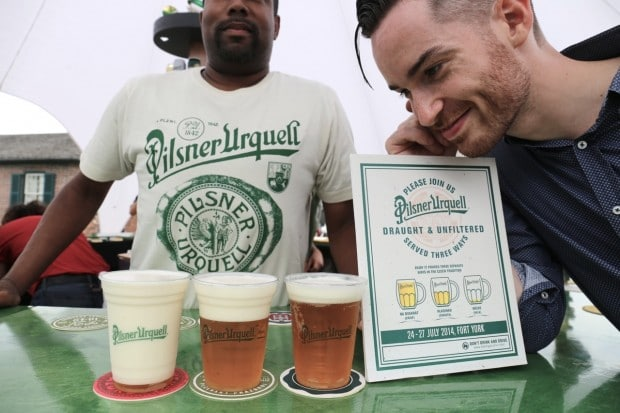 A Lesson with Pilsner Urquell on The Perfect Pour