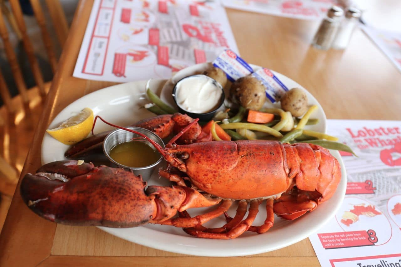 Canadian Road Trip Must-Do: Dinner in Charlottetown at Lobster on the Wharf.