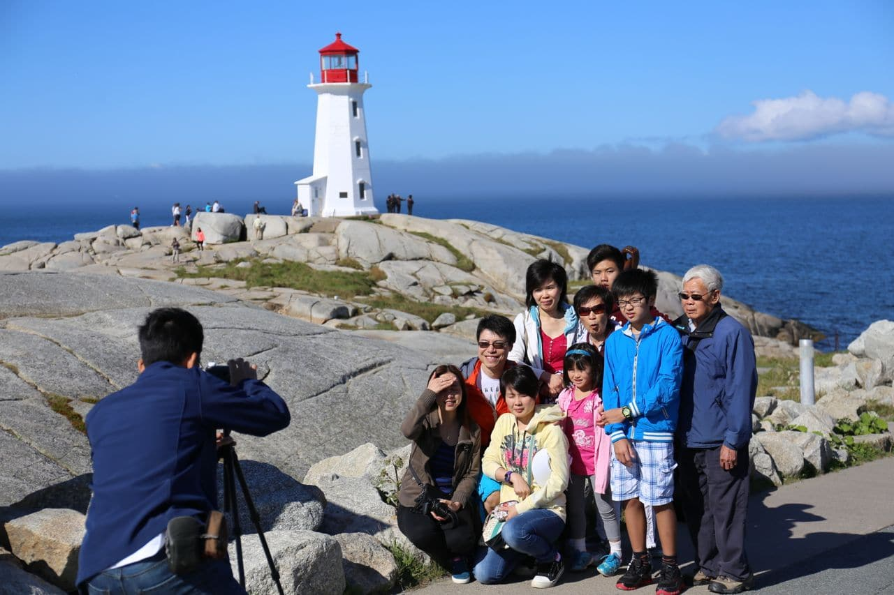 Canadian Road Trip Must-Do: Snap a post-card perfect photo at Peggy's Cove.