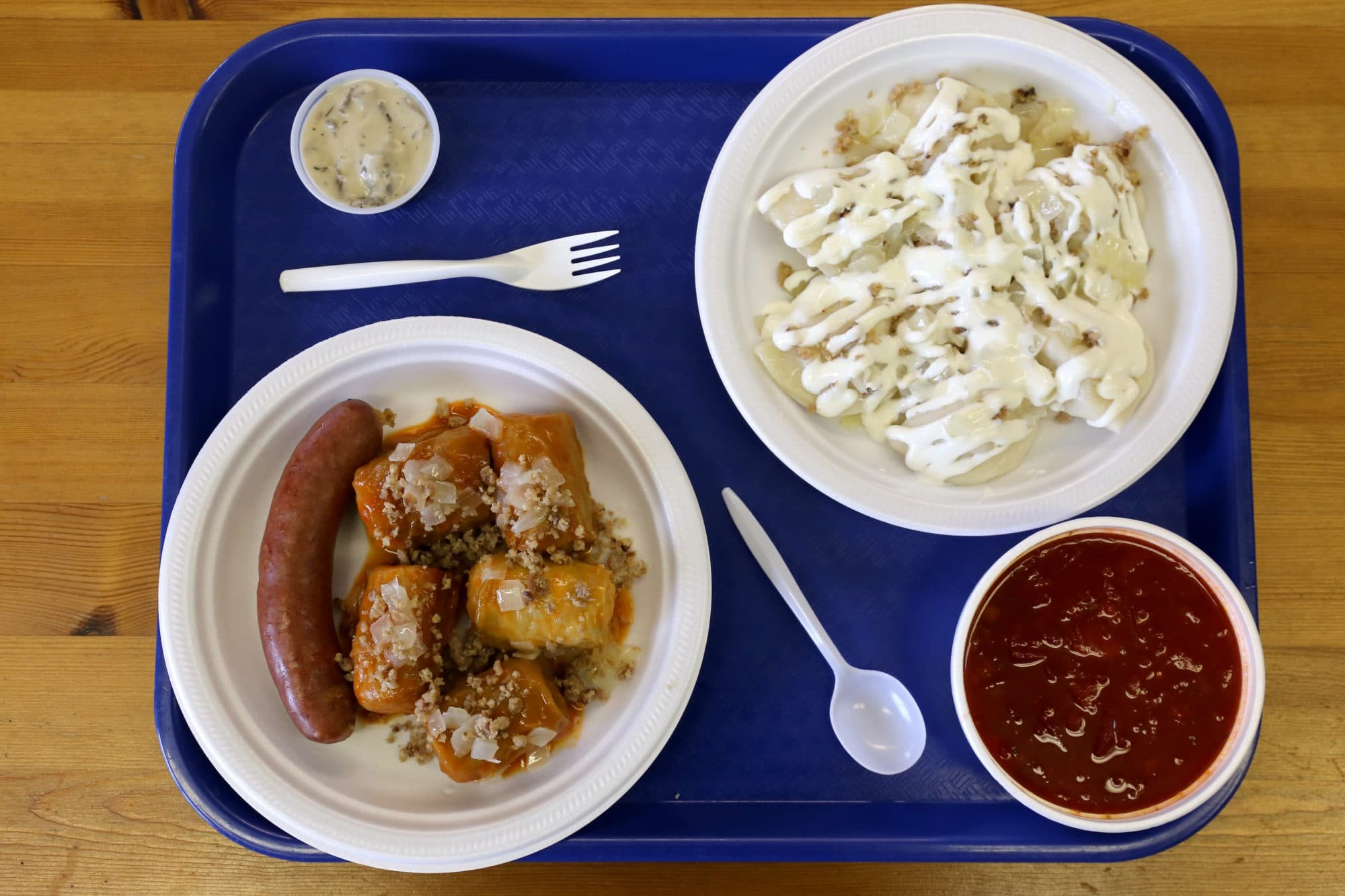 Canadian Road Trip Must-Do: A pierogi feast in Saskatoon.