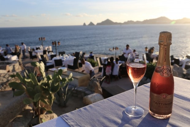 Sunset da Mona Lisa Restaurant in Los Cabos