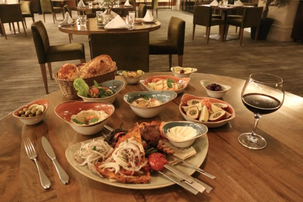 Four Seasons Hotel Amman's Olea Restaurant