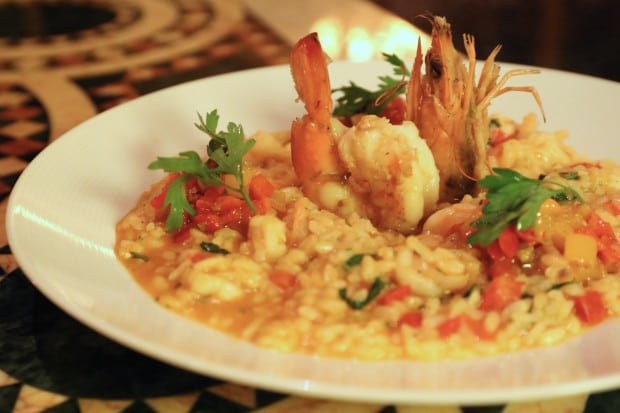Bella Restaurant at Four Seasons Hotel Cario Nile Plaza