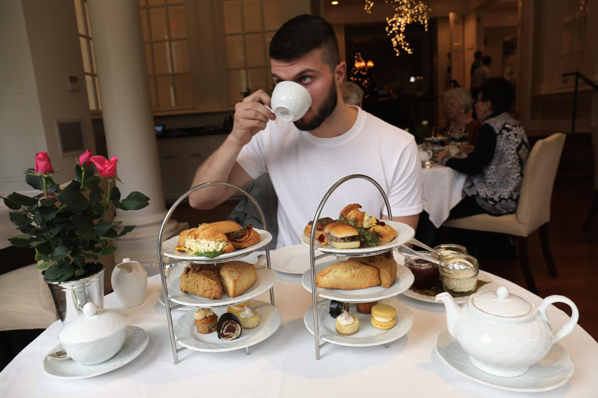 Canadian Road Trip Must-Do: Afternoon Tea at Langdon Hall.