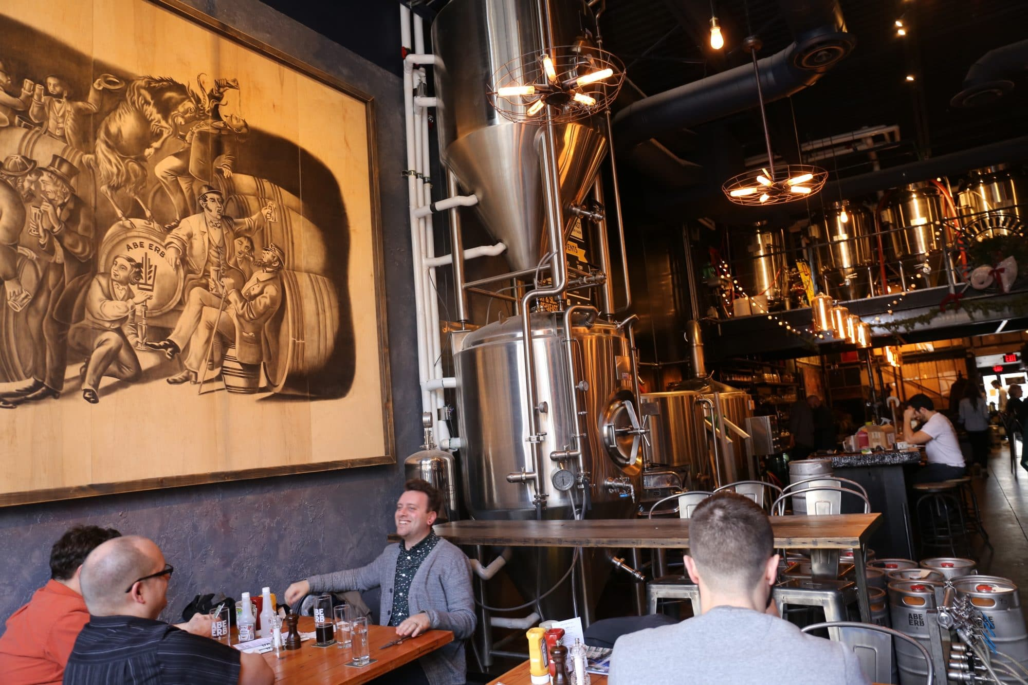 Step inside Abe Erb Waterloo's restaurant dining room and craft brewery.