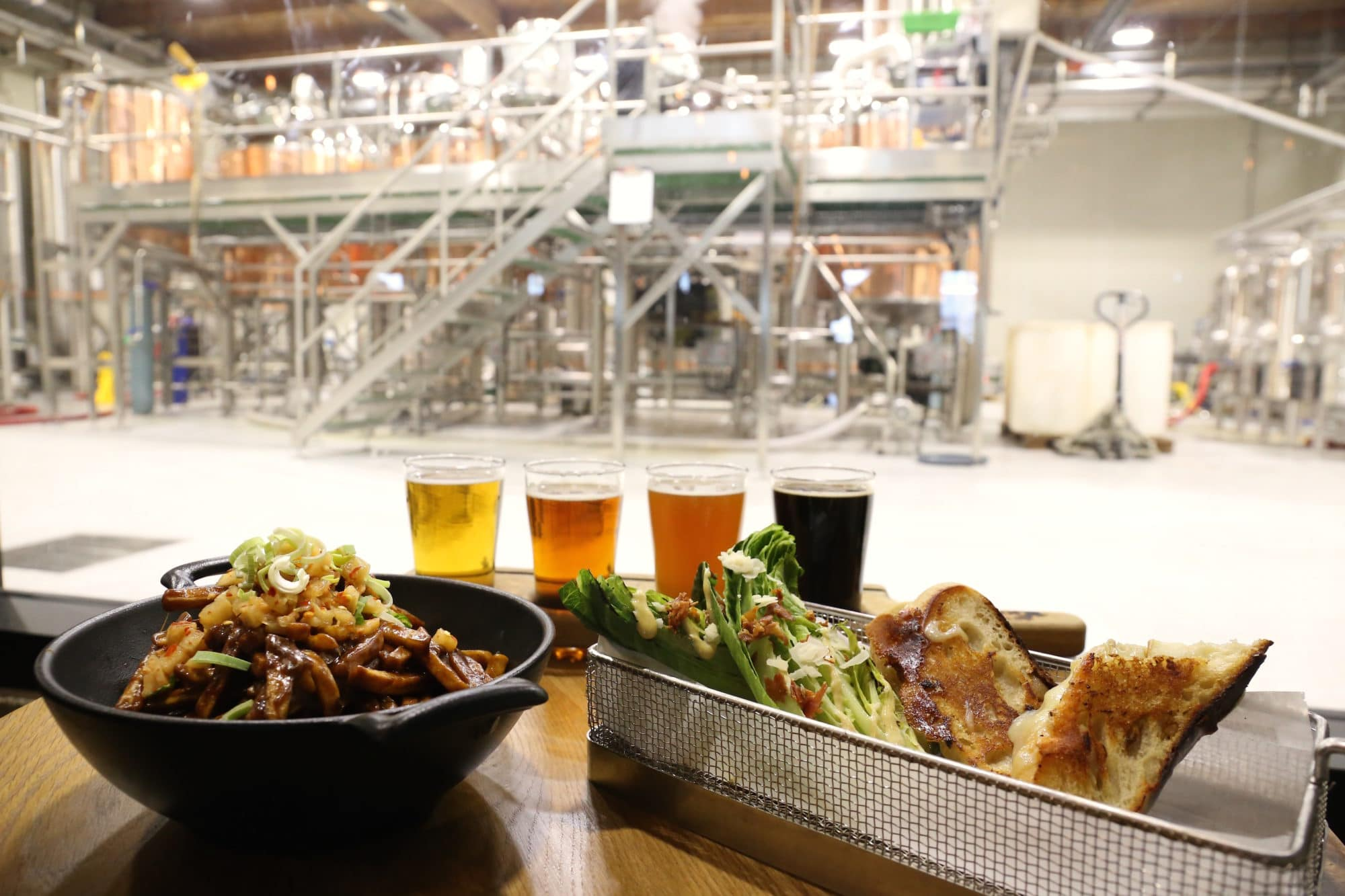 Vancouver Breweries: Big Rock Urban Brewery's restaurant serves poutine and grilled cheese.