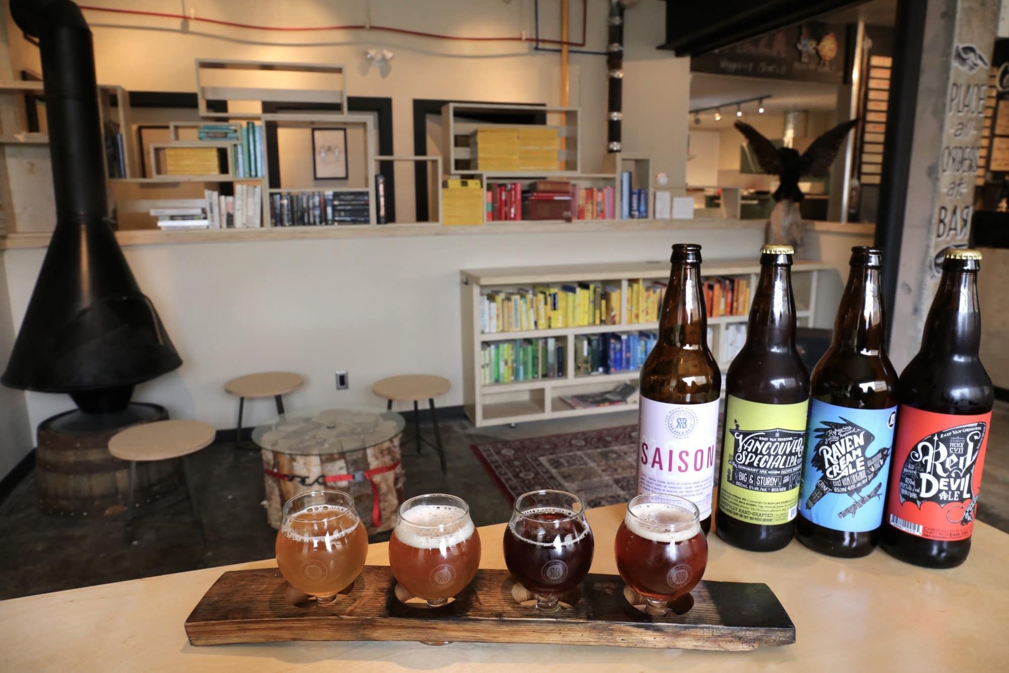 R&B Brewing was one of the first Vancouver Breweries.