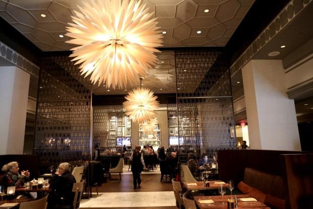 Notch8 Restaurant at Fairmont Hotel Vancouver