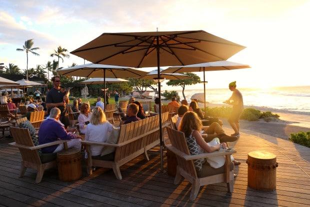 Hualalai's Beach Tree Restaurant at Four Seasons Resort Hualalai