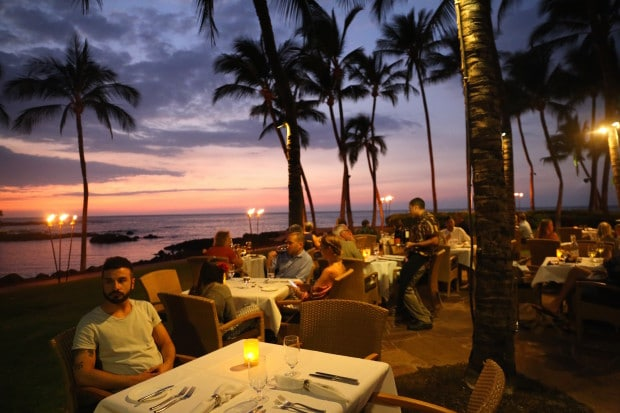 Brown's Beach House Restaurant at Fairmont Orchid