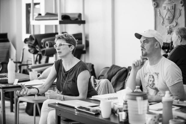 Alisa Palmer_Director_Michael Hart_Stage Manager_Body Politic_Photo by Dahlia Katz