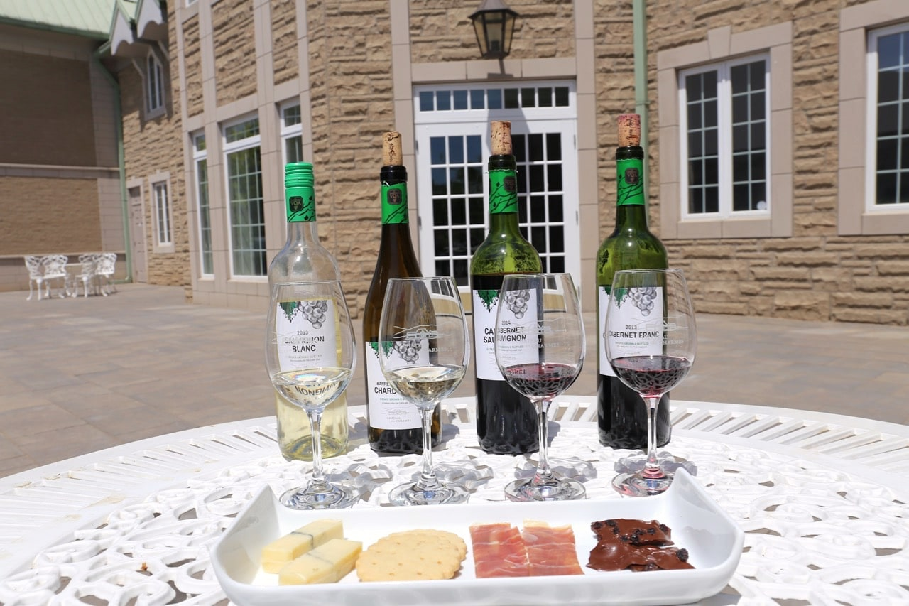 Cycle to Chateau des Charmes in Niagara on the Lake and enjoy a wine and food pairing.