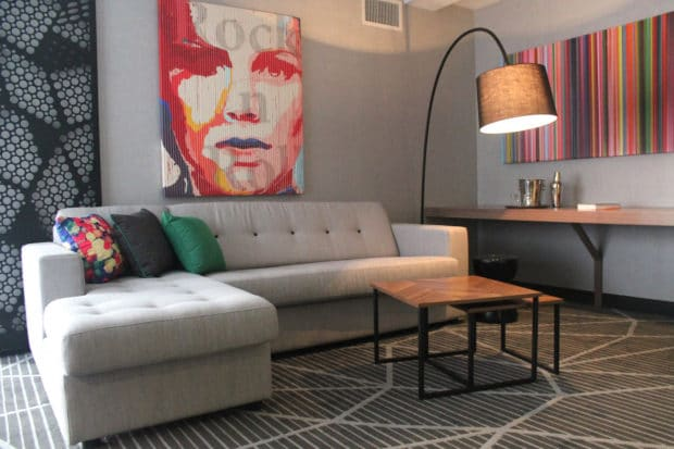 Trendy Design at Renaissance Hotel in Montreal