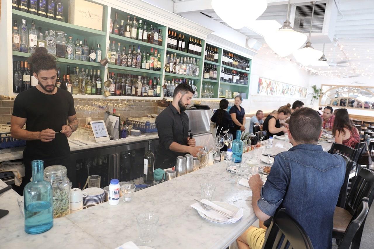 Ossington Restaurants: Mamakas Taverna is one of Toronto's best Greek restaurants.