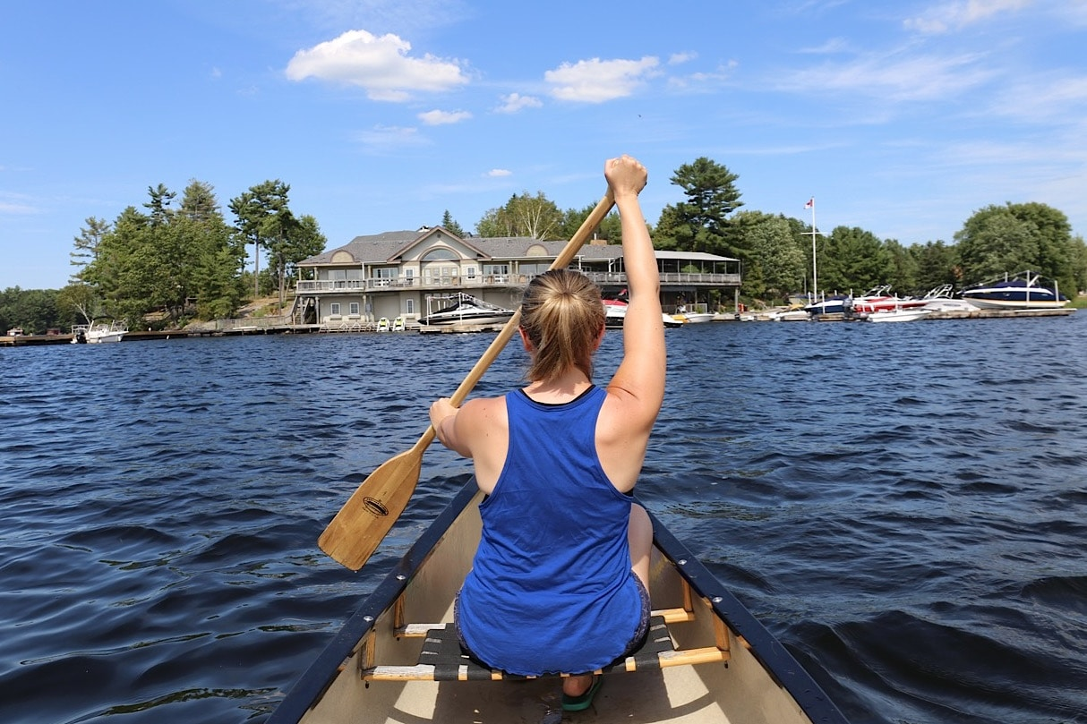 Canadian Road Trip Must-See: Rest and relax on the lake in Ontario Cottage Country.