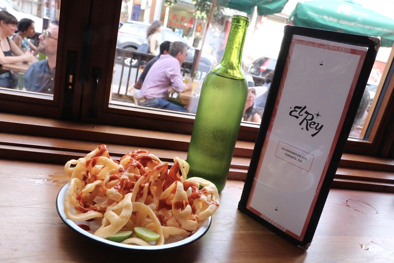 Fritos con Salsa at El Rey Toronto.