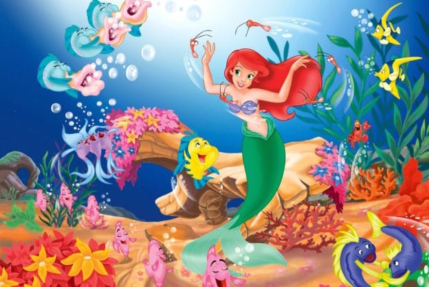 ariel-little-mermaid-swimming