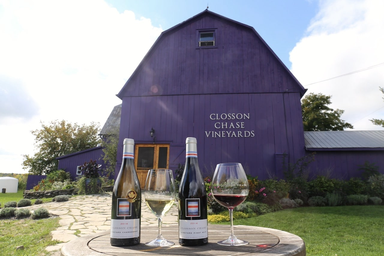 Canadian Road Trip Must-Do: A wine tour of Prince Edward County.