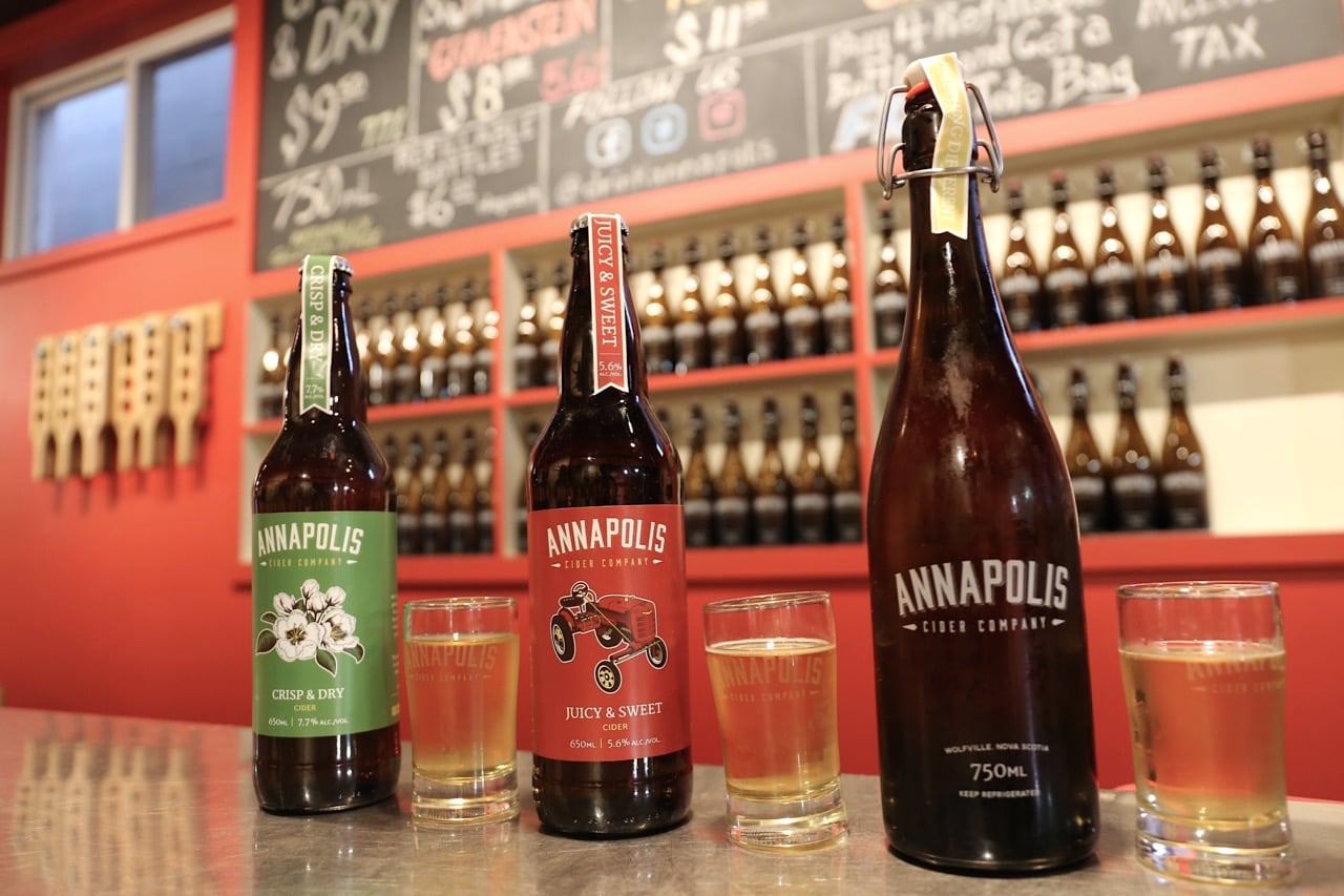 Canadian Road Trip Must-Do: Explore the wine, beer and cider scene in Wolfville.