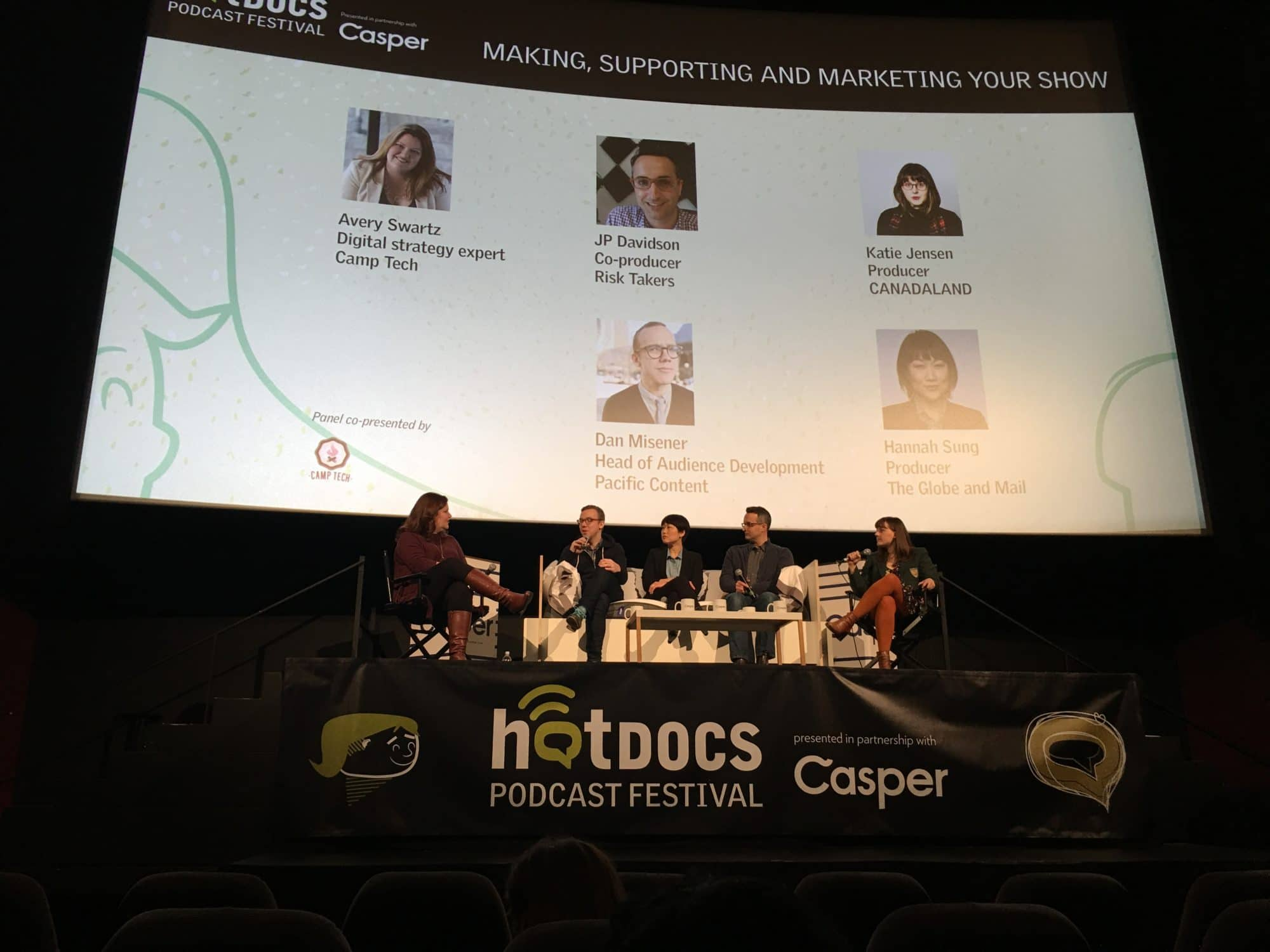 Inaugural Hot Docs Podcast Festival Hits Toronto