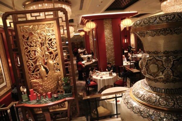 Shang Palace Michelin Restaurant at Kowloon Shangri-La Hotel