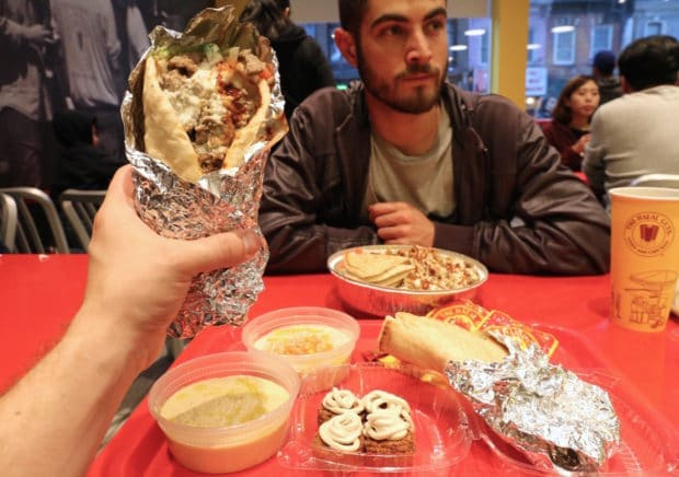 Toronto Lines Up To Feast at The Halal Guys