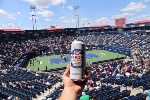Tennis Fans Thirst Quench on Peroni at The Rogers Cup