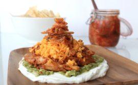 Korean Mexican Kimchi Nacho Recipe - 18