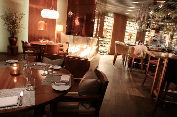 Maison Boulud Restaurant at Ritz Carlton Montreal